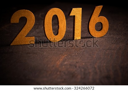 New Year's Eve decoration 2016 #324266072