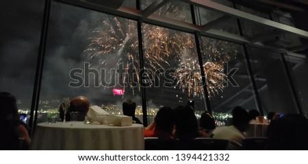New Year's Eve Fireworks celebration