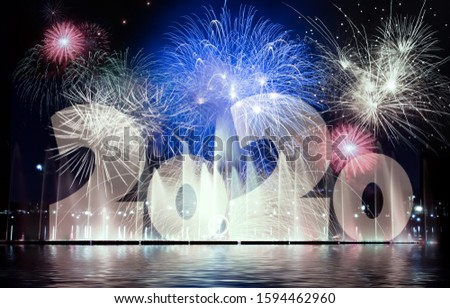 New Year's Eve Fireworks - image