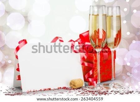 New Year\'s Eve. Happy New Year 2012 Still Life