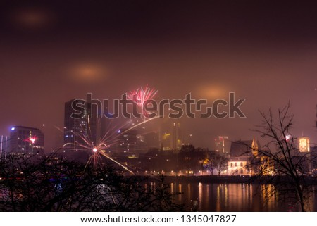 New Year's Eve in Frankfurt