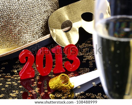 New year's eve 2012 party.