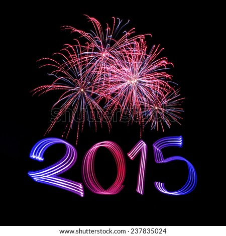 New Year\'s Eve 2015 with Fireworks