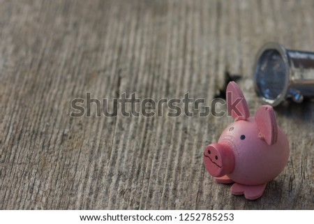 new year's gift - symbolic pig #1252785253