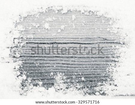New Year\'s snow texture and snowfall, black-and-white