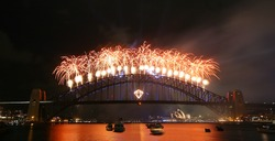 New Years celebration in Sydney Australia