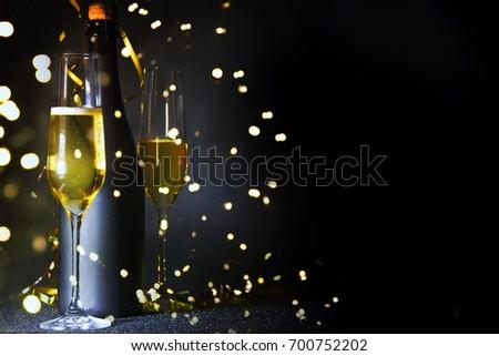 New Years Eve celebration background #700752202