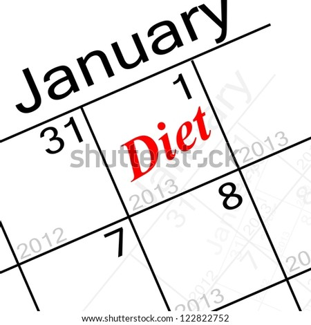 new years resolution, diet!