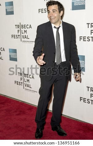 NEW YORK - APRIL 27: Comedian Mario Cantone attends the closing night screening of 'The King of Comedy'  during the 2013 Tribeca Film Festival on April 27, 2013 in New York