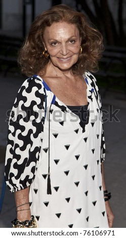 NEW YORK - APRIL 27: Diane Von Furstenberg attends Vanity Fair Party at Tribeca Film Festival at State Supreme Courthouse on April 27, 2011 in New York City