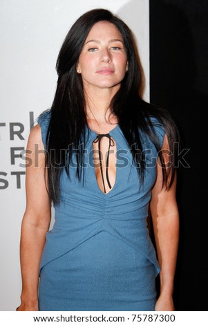 "NEW YORK - APRIL 22: Lynn Collins attends the 2011 TriBeCa Film Festival premiere of ""Angel's Crest"" at the BMCC TriBeCa PAC on April 22, 2011 in New York City."