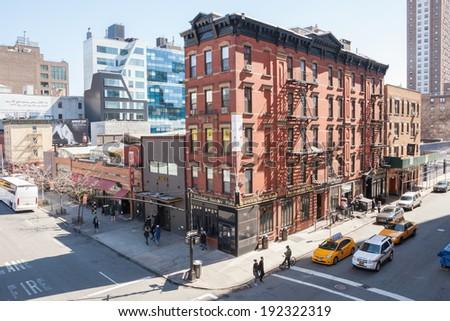 NEW YORK - APRIL 6:  People enjoy walking through Chelsea on a lovely spring day.  Photo taken April 6, 2014.