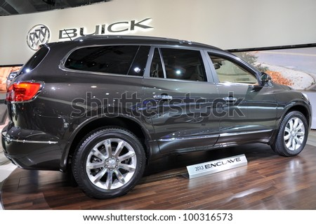 NEW YORK - APRIL 11: The Buick Enclave at the 2012 New York International Auto Show running from April 6-15, 2012 in New York, NY.