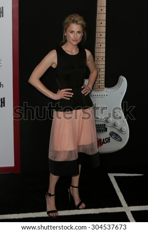 NEW YORK-AUG 3: Actress Mamie Gummer attends the \'Ricki And The Flash\' New York premiere at AMC Lincoln Square Theater on August 3, 2015 in New York City.