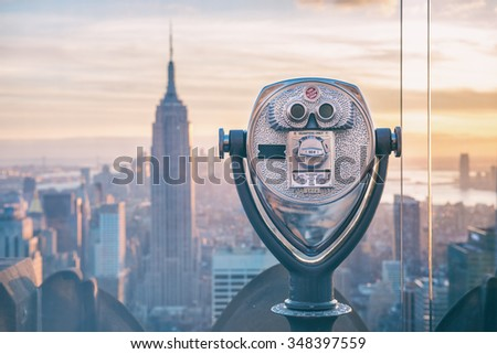 new york binoculars