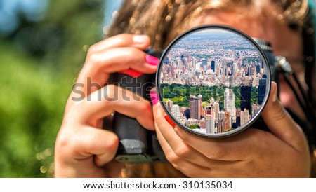 New York Central Park from the eyes of a little girl.