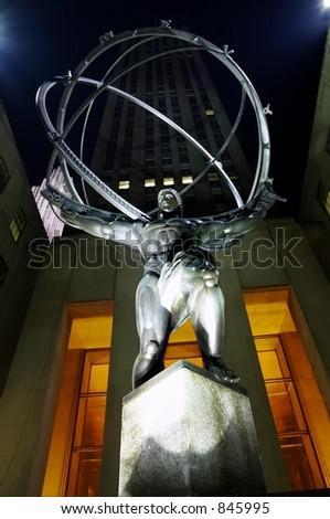 http://image.shutterstock.com/display_pic_with_logo/53046/53046,1135909933,7/stock-photo-new-york-city-at-night-hercules-statue-rockefeller-center-845995.jpg