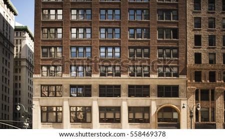 new york city building facade