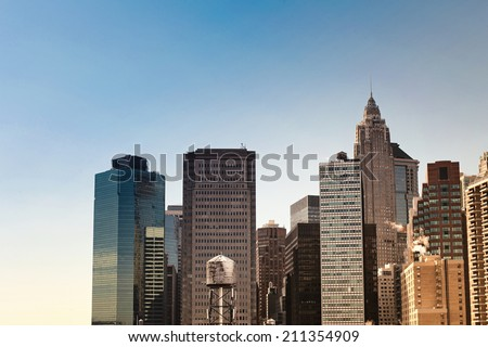 New York City buildings #211354909