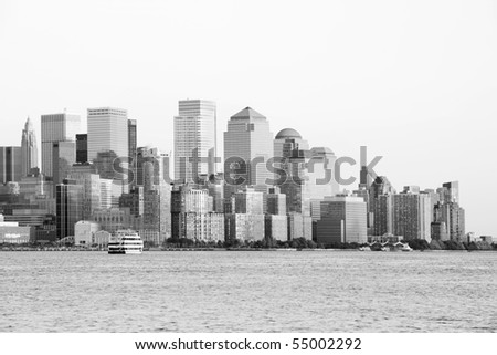 new york city pictures black and white. stock photo : New York City