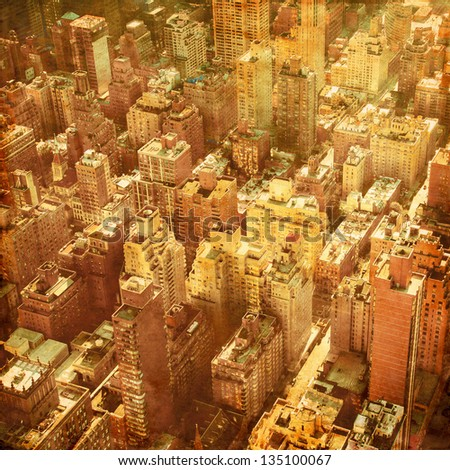 new york city manhattan aerial  ...