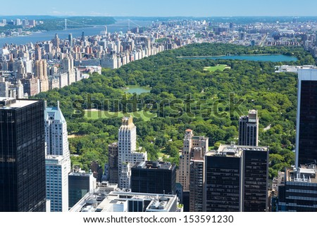 New York City Manhattan cityscape, USA