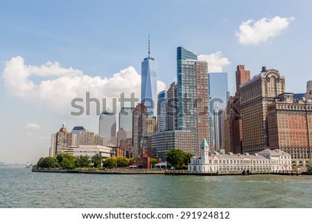 New York City Manhattan skyline #291924812