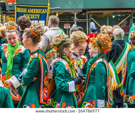 stock-photo-new-york-city-march-a-group-of-girls-dressing-in-irish-costumes-chatting-before-st-patrick-264786977.jpg