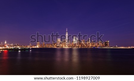 New York City skyline #1198927009