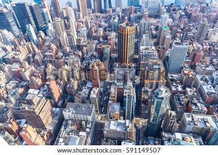 New York City Skyline #591149507