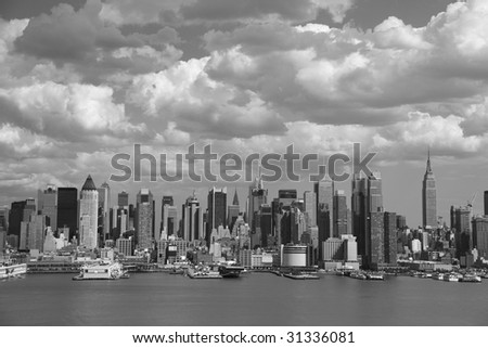 city skyline wallpaper black and white. new york city wallpaper black