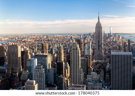 New York City Skyline - NYC - NY - USA #178040375