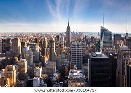 New York City Skyline - NYC - USA #330104717