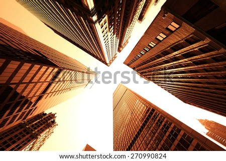 New York City skyscraper #270990824