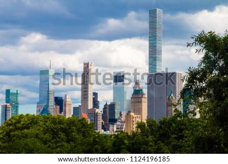 New York City Skyscraper in lower Manhattan. #1124196185