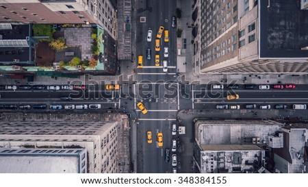 New York City 5th Ave Vertical - Shutterstock ID 348384155