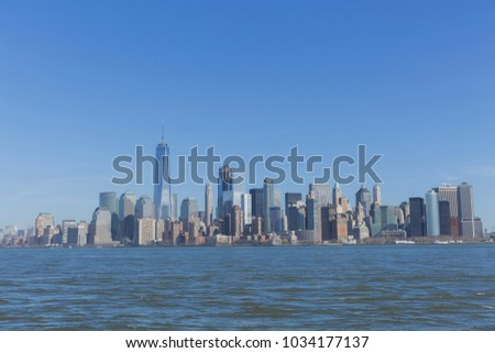 New York City, USA. #1034177137