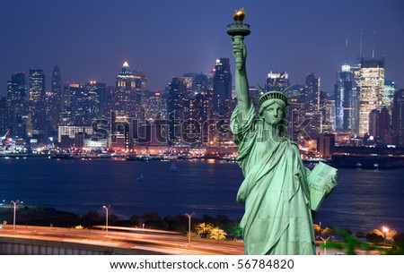 new york cityscape tourism concept photograph - stock photo