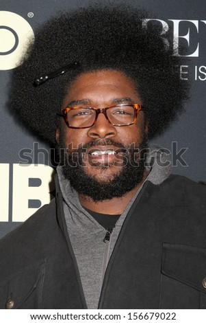 NEW YORK - FEB 12: Questlove attends the premiere of \