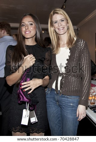 NEW YORK - FEBRUARY 03: Jenna Blatstein and Alex McCord attend Jenna Leigh intimate lingerie trunk show at 25Park boutique on February 03, 2011 in New York City.