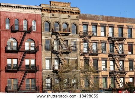 New York fire escape ladder