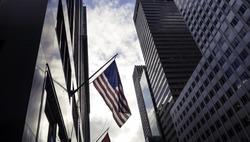 new york, flag usa nyc