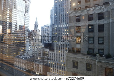 New york from your windows Big cities of the world #672274609