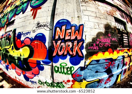 Where to see cool graffiti in new york city u s news travel for Fish tag nyc