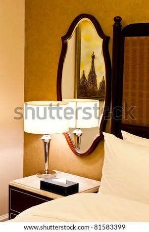 New York, interior of a luxury Hotel