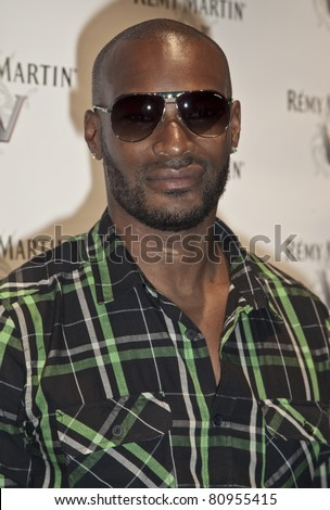 NEW YORK - JULY 12: Model Tyson Beckford attends Remy Martin V official launch party with performance by Robin Thicke at Lavo NYC on July 12, 2011 in New York City.