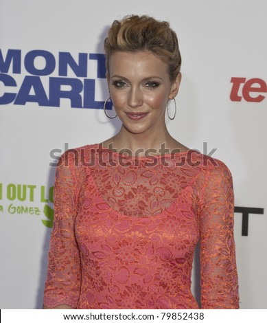 NEW YORK - JUNE 23: Actress Katie Cassidy attends the 'Monte Carlo' screening at AMC Loews Lincoln Square on June 23, 2011 in New York City.