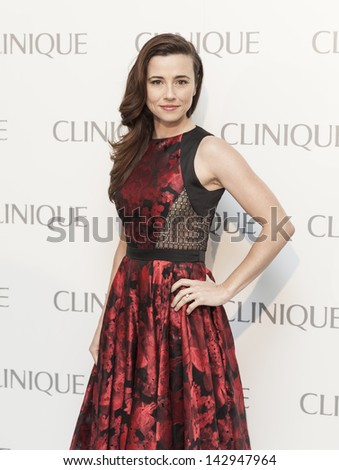 NEW YORK - JUNE 18: Linda Cardellini attends Dramatically Different Party hosted by Clinique launch new Moisturizing Lotion at Loft & Garden at Rockefeller Center on June 18, 2013 in New York City