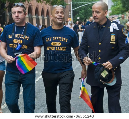 gay new york police hayes