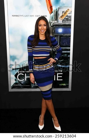 NEW YORK-MAR 4: Entertainment reporter Simone Boyce attends the premiere of \
